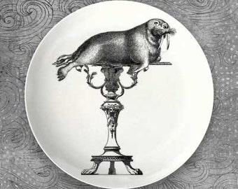 Walrus and Crystal Palace table on melamine plate