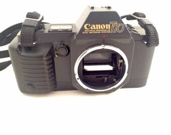 Canon T70 Camera Body for Parts
