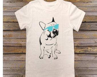 French bulldog shirt, Frenchie shirt, toddler shirt, kids shirt, baby bodysuit, girls shirt, boys shirt, baby clothes, kids clothes, toddler