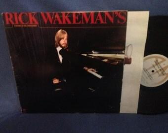 "Vintage, Rick Wakeman - ""Criminal Record"", Vinyl LP, Record Album, Original First Press, Analog Synthesizer, Space Synth."