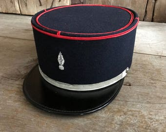 1950s French Pompiers Firemans Cap, Firefighter Uniform Hat, Army Military, French Memorabilia