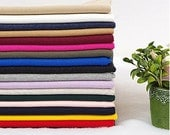 2x1 Ribbing and Binding Knit Fabric, by Half Yard - Choose From 18 Colors - 97502