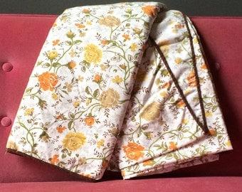 Vintage Handmade Twin Sheet Set