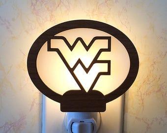 WV Mountaineers Night Light
