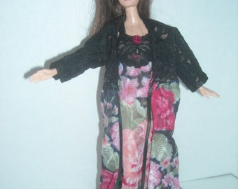 Barbie Nightgowns with Robe or Bed Jacket