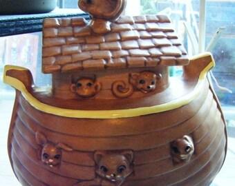 Unique Noahs Ark Cookie Jar Related Items Etsy