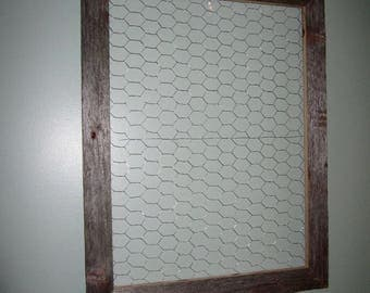 Barnwood display hanger