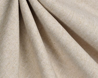 SUMMER SALE! Solid Linen Curtains, Office Curtains, Curtain Panels 24W or 50W x 63, 84, 90, 96 or 108L Linen Natural shown