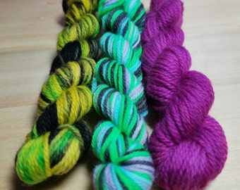 Butterfly Mini Skein Trio