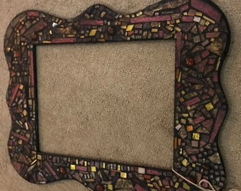 Mosaic Stained Glass Frame