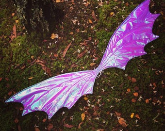 Dragon Wings! Dragon Costumes, Purple Dragon Accessories.