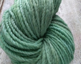 Spearmint, KR Rustic green yarn, DK- Worsted yarn, 198 meters, 216 yards