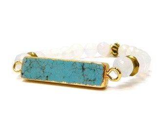 Turquoise Bar | Clear