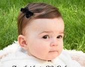 Black Velvet Hair Bow, Mini Hair Bows, Velvet Hair Bow, Baby Girl Hair Bows, Newborn Hair Bows, Infant Hair Bows, Mini Baby Bows, Hair Bows