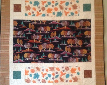 Autumn Splendor Bricks Quilt Kit