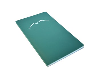 Personalized Notebook: Mountain Stamp