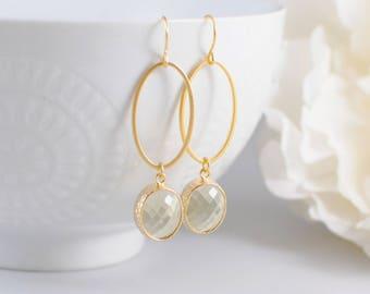 The Keeley Earrings - Lemon