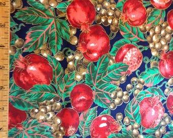 Christmas cranston fabric