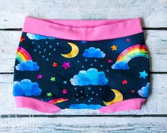 Custom Bliss Rainbow Undies for girls and boys- 6 styles