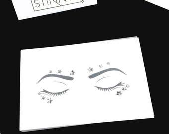 Star Struck Face Gems