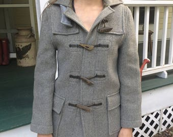 Vintage Made in England Gloverall wool coat