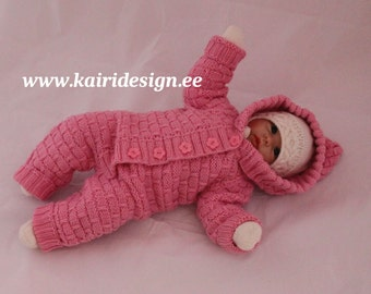 Knitting Pattern Doll Booties : Knitting pattern of Baby doll booties