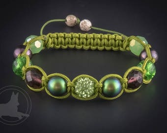 Shambhala Bracelet, Avengers, Hulk, Character Bracelet