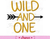 Instant Download Wild And One Machine Embroidery Digital Design NO:2219