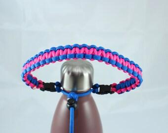 Royal Blue & Hot Pink Paracord Handle