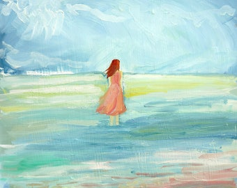 Tidal Pool - limited edition print of an original oil painting