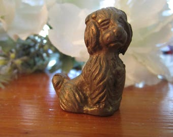 Brass Dog - dog - brass - pet - animal