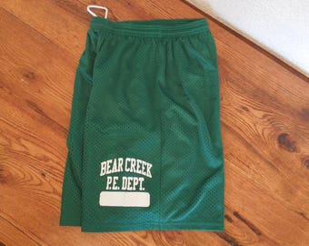 Vintage  High School Gym Shorts PE Phys. Ed Gym Class