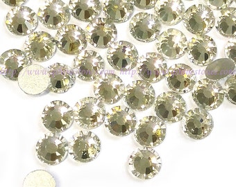 5mm rhinestone clear crystal in Supreme Quality ss20 Clear White