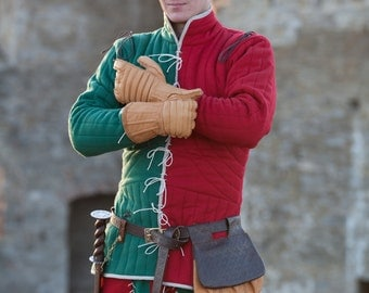 """DISCOUNTED PRICE! Gambeson Jacket """"Hound of War""""; Padded Coat; War Coat;"""