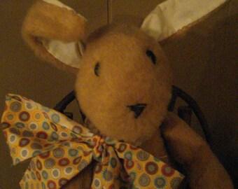 """Primitive Bunny Rabbit 9"""" Sitting"""