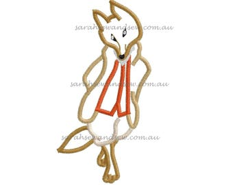 Mr Tod (Peter Rabbit) Embroidery Design