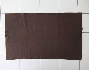 """Chocolate Tanned Deerskin Leather 14"""" x 23"""", Perfect for Handbags, Garment, Leather Crafts, Deerskin Project Pieces, Craft Piece, Leather"""