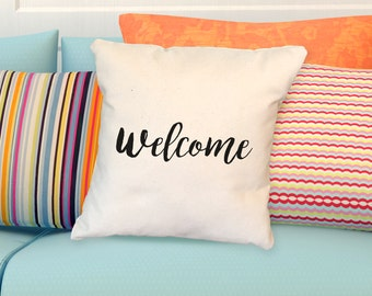 Pillow: WELCOME
