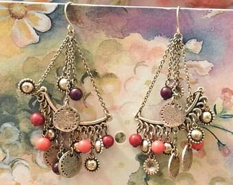 Bohemian Vintage Jewelry Dangle Earrings