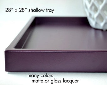 24 x 24 large ottoman tray coffee table trays square tray