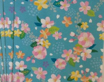 "SALE Small Flat Paper Bags "" Hannari"" Made in Japan  10 bags   4.5 x 6.25"