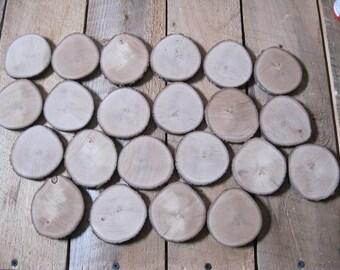 "22 Tree Slices-2 3/4"" Wood Slices-Wood Slice Wall Art Supply-Tree Slice Wall Art Supply-Wedding Supply-Rustic Wedding Supplies-order #18"