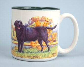 1992 Coffee Cup / Mug with Labrador Retrievers by Potpourrri Press