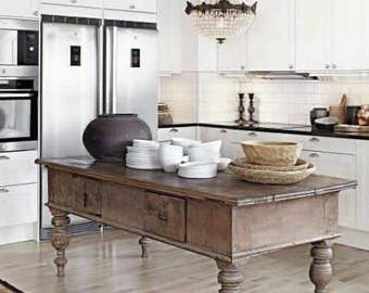 Kitchen island or table