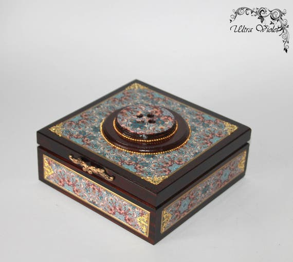 Knitting Needle Storage Box : Large sewing knitting needles box with pin cushion