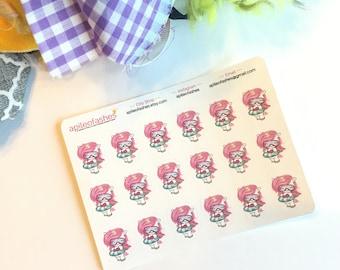 Pink Unicorn Tube Sampler Stickers, Bible Stickers, Bible Journaling Stickers, Planner Stickers, Tab Stickers, Prayer Journal