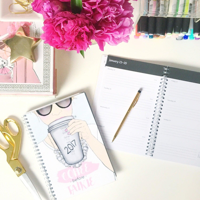 Calendar Girly : Calendar planner girly girl boss