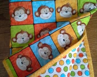 SALE Baby Crib Toddler Crib Nursery Bedding Monkey Theme Nursery Monkey Baby Shower Monkey Gender Reveal Playmat New Baby Gift Gender Neutra