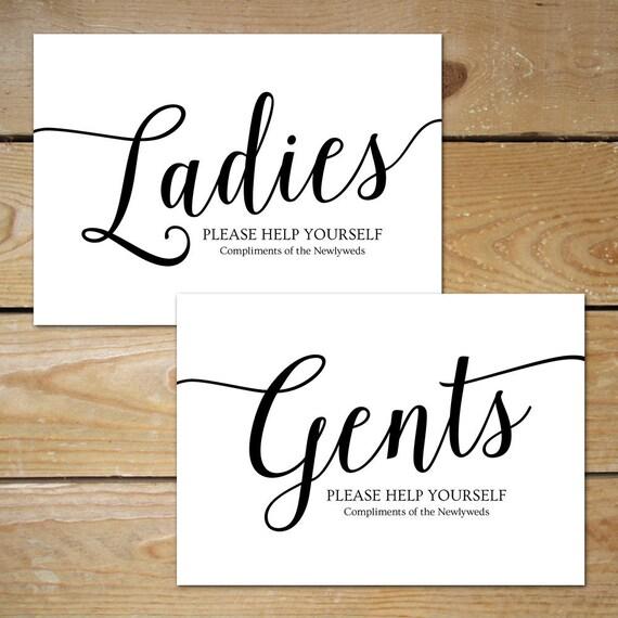 printable bathroom signs wedding bathroom basket sign
