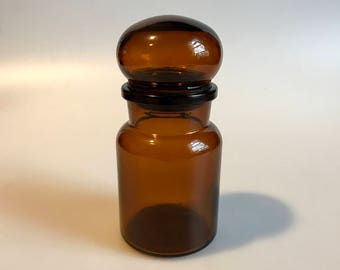 Vintage Apothecary Brown Bottle Made In Belgium